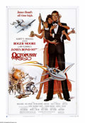 "Movie Posters:Action, Octopussy (MGM - UA, 1982). One Sheet (27"" X 41""). ""You seem tohave this nasty habit of surviving."" And so James Bond has s..."