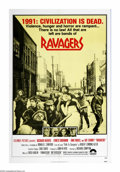 "Movie Posters:Science Fiction, Ravagers (Columbia, 1979). One Sheet (27"" X 41""). In the post WWIII world of 1991, Richard Harris tries to gather a group of..."