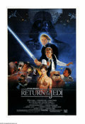 """Movie Posters:Science Fiction, Return of the Jedi (20th Century Fox, 1983). One Sheet (27"""" X 41"""").""""I've got a bad feeling about this."""" In this final episo..."""