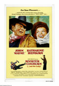 """Movie Posters:Western, Rooster Cogburn...and the Lady (Universal, 1975). One Sheet (27"""" X 41""""). John Wayne is back as Marshal Rooster Cogburn, the ..."""