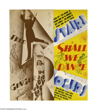 "Shall We Dance (RKO, 1937). Herald (7.5"" X 9""). ""I told you, I haven't even met her. But I'd kinda like t..."