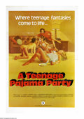 "Movie Posters:Bad Girl, A Teenage Pajama Party (VEP, 1977). One Sheet (25"" X 38""). X-ratedteenage fantasy film. Staining, wrinkling, fold line wear..."