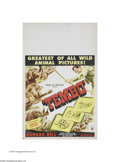 """Movie Posters:Documentary, Tembo (RKO, 1952). Window Card (14"""" X 22""""). This is a vintage, theater-used poster for this documentary that was directed by..."""