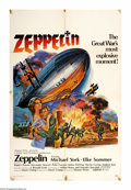 "Movie Posters:War, Zeppelin (Warner Brothers, 1971). One Sheet (27"" X 41""). MichaelYork plays a British spy in WWI posing as a defector to the..."