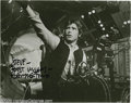 "Movie/TV Memorabilia:Photos Signed, Harrison Ford SIgned Photo. A black-and-white 8"" x 10"" photo of Ford as reluctant hero Han Solo from the original ""Star War... (1 )"