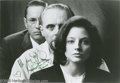 "Movie/TV Memorabilia:Photos Signed, ""Silence of the Lambs"" Signed Photo. An 8"" x 10"" black-and-white promo still signed ""All my best!"" by actress Jodie Foster ... (1 )"