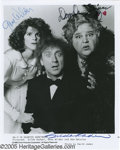 "Movie/TV Memorabilia:Photos Signed, ""Haunted Honeymoon"" Signed Photo. Gene Wilder not only starred inthis horror-comedy, he also directed his wife Gilda Radne..."