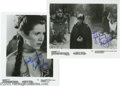 "Movie/TV Memorabilia:Photos Signed, ""Star Wars"" Miscellaneous Signed Photos lot. Four black-and-white8"" x 10"" photos -- two from ""Star Wars"" and two from ""Jed... (4Items)"