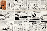 Stan Drake Heart of Juliet Jones Sunday Comic Strip Original Art dated 8-30-59 (King Features Syndicate, 1959)