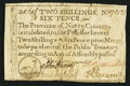 Colonial Notes:North Carolina, North Carolina December, 1771 2s6d Duck Very Fine.. ...