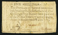 Colonial Notes:North Carolina, North Carolina December, 1771 5s Very Fine.. ...