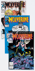 Modern Age (1980-Present):Superhero, Wolverine Group of 14 (Marvel, 1982-89) Condition: Average NM-....(Total: 14 Comic Books)