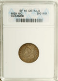 Bust Dimes: , 1829 10C Small 10C--Cleaned--ANACS. XF40 Details. NGC Census:(4/188). PCGS Population (7/170). Mintage: 770,000. Numismedi...