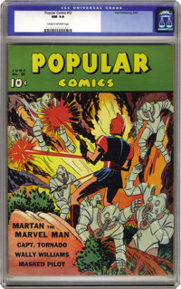 Popular Comics #52 (Dell, 1940) CGC NM 9.4 Cream to off-white pages. This issue is billed by Overstreet as having a &quo...