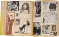 "Movie/TV Memorabilia:Memorabilia, Ava Gardner 1940s Scrapbook. Titled ""Clippings of the 1940's: APicture Life History of Ava Gardner,"" this large scrapbook f..."