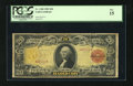 Large Size:Gold Certificates, Fr. 1180 $20 1905 Gold Certificate PCGS Fine 15. This is an absolutely ideal example of the grade. This is one of the most p...
