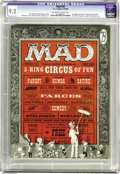 Magazines:Mad, Mad #29 (EC, 1956) CGC NM- 9.2 Off-white to white pages. AlFeldstein's first issue as editor. Don Martin's first issue as a...