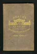 Miscellaneous:Other, Heath's Infallible Counterfeit Detector Pocket Edition. Thirdedition, revised and corrected 1870, complete and tight in its...