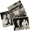 "Movie/TV Memorabilia:Photos, Frank Sinatra and Ava Gardner On the Town Photos. This set of four b&w 8"" x 10"" photos includes a shot of Sinatra spending t..."