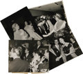 "Movie/TV Memorabilia:Photos, Ava Gardner Vintage On the Town Photos. Included in this set of four b&w 8"" x 10"" photos is a shot of Ava at a club in Lond..."