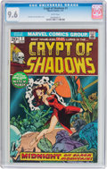 Bronze Age (1970-1979):Horror, Crypt of Shadows #1 (Marvel, 1973) CGC NM+ 9.6 White pages....