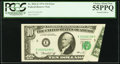 Error Notes:Foldovers, Fr. 2022-E $10 1974 Federal Reserve Note. PCGS Choice About New55PPQ.. ...