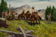 Donald Teague (American, 1897-1991) The Formidable Sierra, 1969 Oil on panel 28 x 40 inches (71.1 x 101.6 cm) Signed