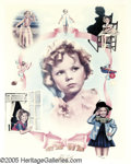 "Movie/TV Memorabilia:Posters Signed, Shirley Temple Signed Poster (1977). A 24"" x 30"" lithograph, number1,159 in a limited series of 2,000, signed by the former..."