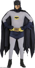 Movie/TV Memorabilia:Costumes, Batman Costume From TV Series. Batman creator Bob Kane once notedthat the television series saved the comic series from can...