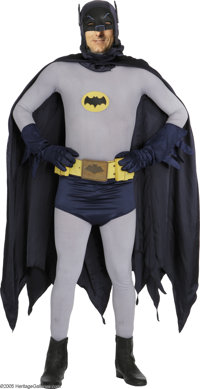 Batman Costume From TV Series. Batman creator Bob Kane once noted that the television series saved the comic series from...