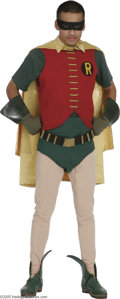 "Movie/TV Memorabilia:Costumes, Robin Costume from ""Batman"" TV Series. Boy sidekicks weren't thatcommon among adventure heroes before the days of comic boo..."