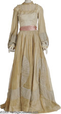 "Movie/TV Memorabilia:Costumes, Nancy Coleman ""Devotion"" Costume Dress. Two-piece dress worn by the actress in her role as Anne Bronte in the 1946 drama. Co... (1 )"