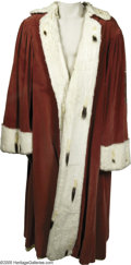 Hollywood Memorabilia:Costumes, Vincent Price Robe. Featured here is the robe worn by Vincent Price in his role of the Duke of Clarence in the 1939 horror d...