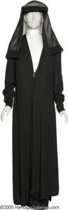 "Hollywood Memorabilia:Costumes, Rosalind Russell ""The Trouble With Angels"" Costume. Here is the nunoutfit worn by Russell in her role as the Mother Superio..."
