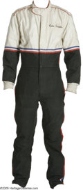 "Movie/TV Memorabilia:Costumes, Tom Cruise ""Days of Thunder"" Costume Racing Jumpsuit. This size-12 red, white, and blue racing jumpsuit was worn by Tom Crui... (1 )"