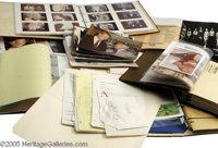 John Wayne Photo Albums and Scrapbooks. This large lot includes two photo albums and four scrapbooks compiled by legenda...