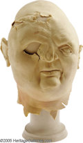 Movie/TV Memorabilia:Props, Goonies Latex Head Sculpture. A foam-rubber design sculpture for the deformed character Sloth from the 1985 family adventure... (1 )