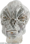 """Movie/TV Memorabilia:Props, Poltergeist Prop Head. Written and produced by Steven Spielberg and directed by Tobe """"Texas Chainsaw Massacre"""" Hooper, the 1... (1 )"""