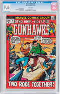 Bronze Age (1970-1979):Western, Gunhawks #1 (Marvel, 1972) CGC NM+ 9.6 White pages....