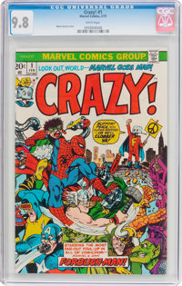 Crazy! #1 (Marvel, 1973) CGC NM/MT 9.8 White pages