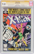 Modern Age (1980-Present):Superhero, X-Men #137 Signature Series (Marvel, 1980) CGC NM/MT 9.8 Whitepages....
