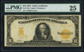 Large Size:Gold Certificates, Fr. 1170a $10 1907 Gold Certificate PMG Very Fine 25.. ...