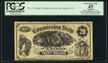 Obsoletes By State:California, San Francisco, CA- Wm. G. Badger $20 Tiffany Commission Scrip ND (ca. 1873). ...