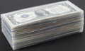 Small Size:Silver Certificates, Group of 100 $1 Funnybacks.. ... (Total: 100 notes)