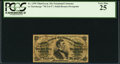 Fractional Currency:Third Issue, Fr. 1299 25¢ Third Issue PCGS Very Fine 25.. ...