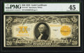 Large Size:Gold Certificates, Fr. 1187 $20 1922 Gold Certificate PMG Choice Extremely Fine 45.. ...