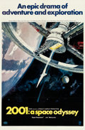 "Movie Posters:Science Fiction, 2001: A Space Odyssey (MGM, 1968). One Sheet (27"" X 41"") Style A,Robert McCall Artwork.. ..."