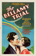 "Movie Posters:Crime, The Bellamy Trial (MGM, 1929). One Sheet (27"" X 41"").. ..."