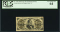 Fractional Currency:Third Issue, Fr. 1295 25¢ Third Issue PCGS Very Choice New 64.. ...