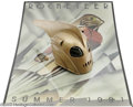 "Movie/TV Memorabilia:Props, Rocketeer Helmet and Poster. Here is a prop helmet from the 1991action-adventure film ""The Rocketeer,"" which starred Bill C... (1 )"